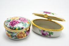 Free Porcelain Box Stock Photography - 16280992