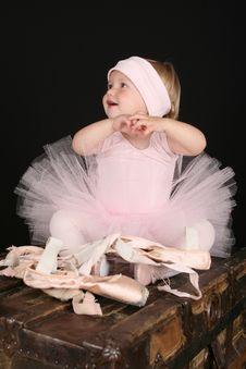 Free Baby Ballerina Royalty Free Stock Image - 16281656