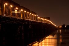 Free Victoria Bridge In Montreal Royalty Free Stock Photo - 16282285