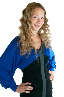 Free Girl In Dress Stock Photo - 16282360