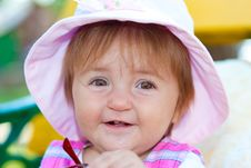 Free Sweet Baby Girl Royalty Free Stock Image - 16282376