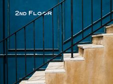 Free Stair Up To Second Floor Stock Photo - 16282400