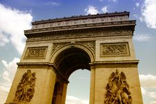 Free Arc De Triomphe Stock Photo - 16282550