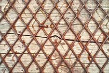 Free Wood And Wire Background Royalty Free Stock Photos - 16282558