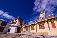 Free Tibet Temple Door Stock Photos - 16282693