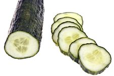 Free Cucumber - Completely Isolated Royalty Free Stock Image - 16282816