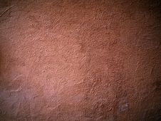Grunge Red Color Wall Royalty Free Stock Image
