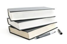 Free Books And Pen Stock Photography - 16283482