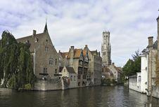 Free Bruges Riverscape Stock Image - 16283501
