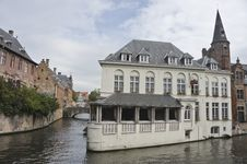Free Bruges Houses II Stock Photography - 16283572