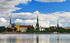 Free View Of Riga Royalty Free Stock Photo - 16283725