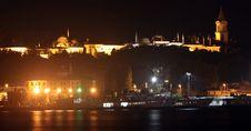 Free Topkapi Palace At Night, Istanbul Stock Image - 16283781