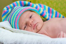 Free Baby Sleeps Royalty Free Stock Photos - 16283888
