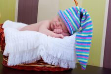 Free Baby Sleeps Royalty Free Stock Image - 16284246