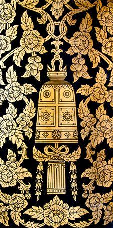 Free Thai Art,bell Stock Photo - 16284570