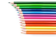 Free Color Pencils Royalty Free Stock Photo - 16285595