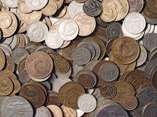 Free Soviet Coins. Stock Photos - 16285683