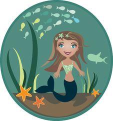 Free Mermaid Stock Image - 16285841