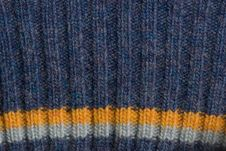 Free Blue Knitted Sweater Texture Royalty Free Stock Photography - 16286457