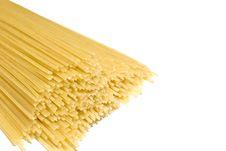 Free Bundle Of Spaghetti Isolated Over White Stock Image - 16286791