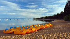 Free Early Morning On Lake Tahoe Stock Photos - 16287783