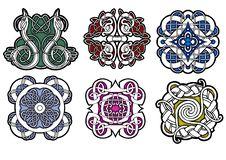 Patterned Ceramic Stock Photo