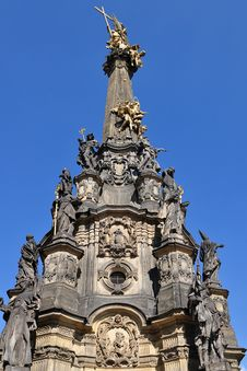 Holy Trinity Column In Olomouc Royalty Free Stock Photography