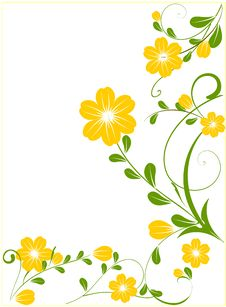 Free Floral Background Royalty Free Stock Photos - 16288028