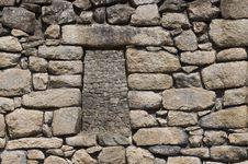Free Machu Picchu Window Stock Images - 16288214