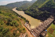Free Bhumiphol Dam Royalty Free Stock Photography - 16288427