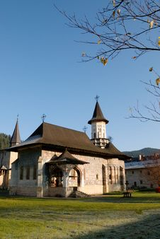 Religious Place In Fall Season Stock Photography