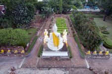 Free Stone Buddha Statue Stock Photo - 16289050