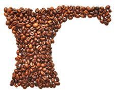 Free Turk Made Of Coffee Royalty Free Stock Photography - 16289077