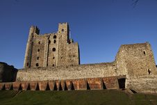 Free Rochester Castle Royalty Free Stock Image - 16289486