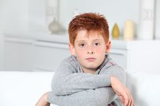 Free Young Boy Portrait Stock Image - 16289591