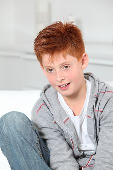 Free Young Boy Portrait Royalty Free Stock Image - 16289666