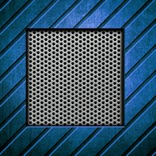 Metal Template Background Stock Photography