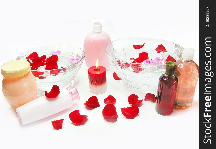 Spa hair mask tonic essences liquid soap