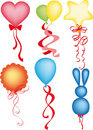 Free Balloon Different Shapes And Colors Royalty Free Stock Photos - 16291718