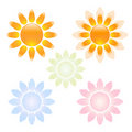 Free Sun Icons Set Royalty Free Stock Image - 16297906