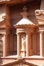 Free Detaiil Of Treasury (Al-Khazneh) In  Petra Royalty Free Stock Photos - 16298868