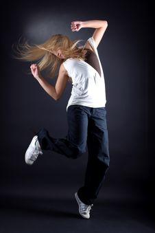 Free Woman Modern Dancer Stock Photos - 16290003