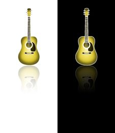 Free Steel Guitar Royalty Free Stock Photo - 16290255