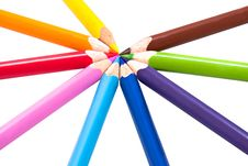 Free Color Pencils Stock Image - 16290541