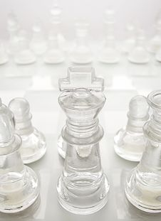 Free Glass Chess Stock Images - 16290724