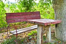 Free Red Table Stock Photography - 16291122