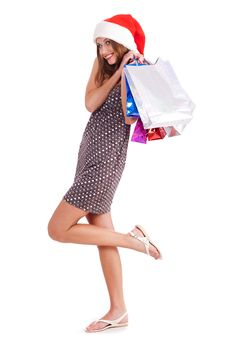 Free Young Girl Shopping...bigtime Stock Photography - 16291232