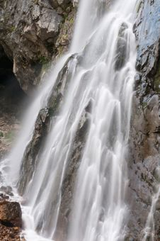Free Falls. Abkhazia. Royalty Free Stock Photo - 16291285