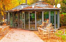 Free Cafe In The Park In Spain Stock Photos - 16291693