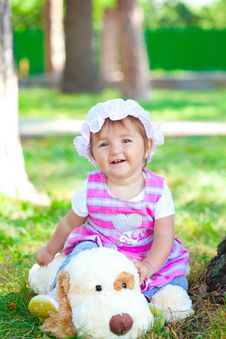 Free Sweet Baby Girl Stock Images - 16292354